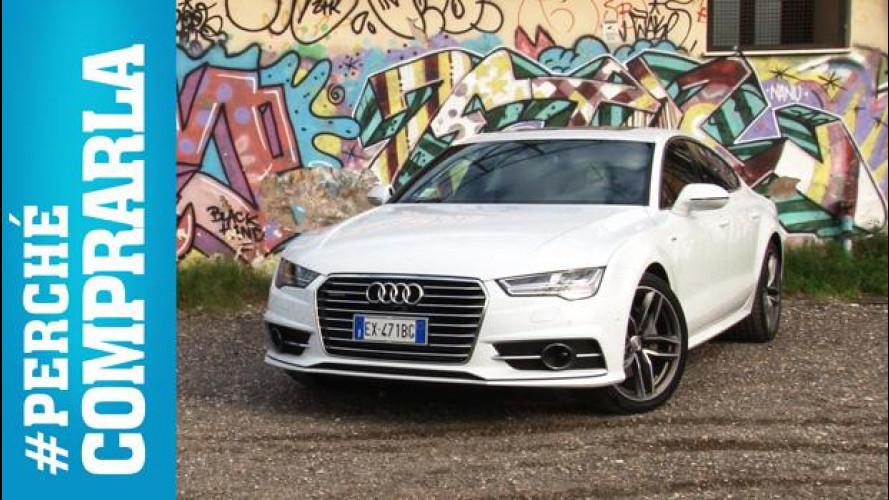 Audi A7 Sportback, perchè comprarla... e perchè no