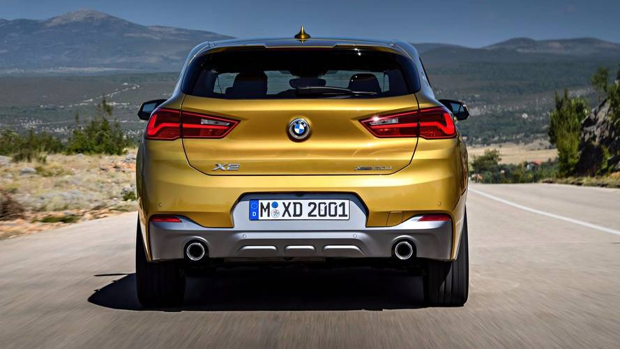bmw x2 unveiled with a mix of style and substance. Black Bedroom Furniture Sets. Home Design Ideas
