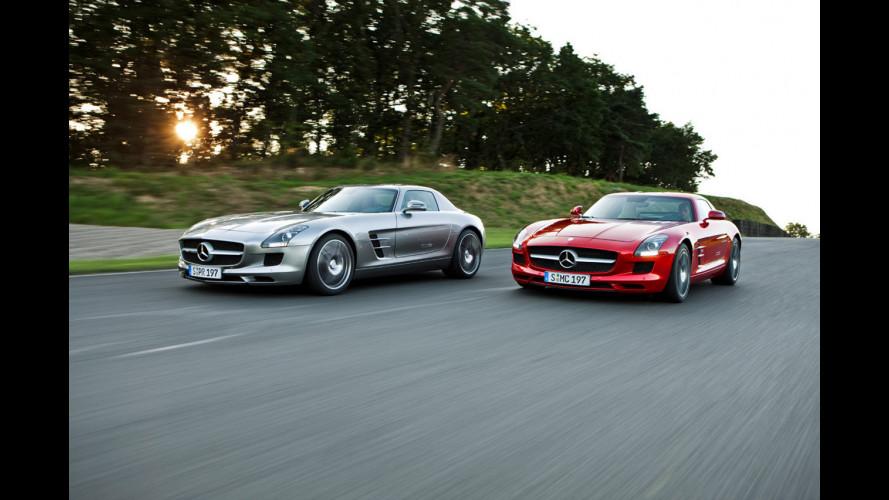 Mercedes SLS AMG: i prezzi italiani