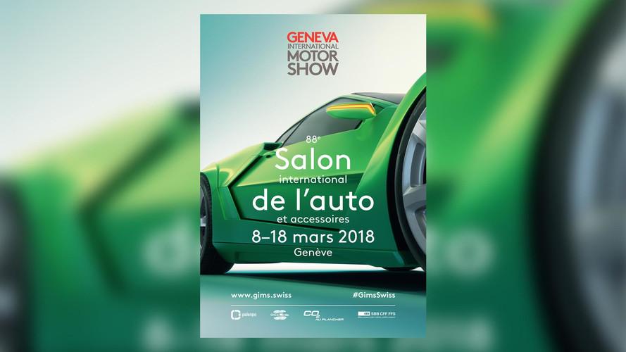 Affiche Salon de Geneve 2018
