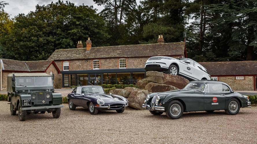 New Jaguar Land Rover Driving Experience Recreates The 1960s