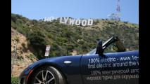 Record: il giro del mondo in Tesla Roadster