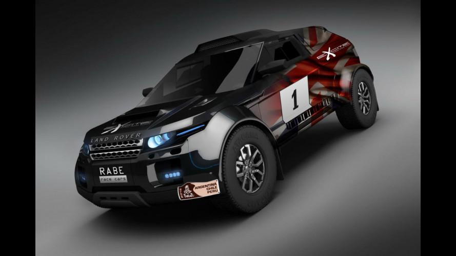 Range Rover Evoque al Dakar Rally