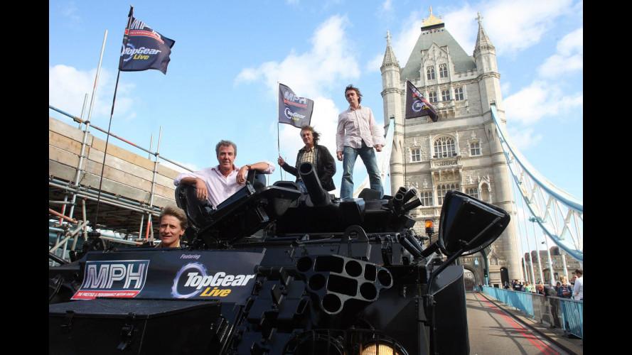 Top Gear… a Londra in carro armato!