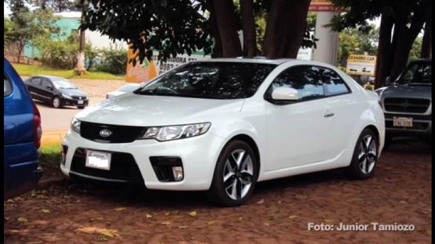Kia Cerato Koup é vendido no Paraguay por US$ 27 mil (R$ 48.500)