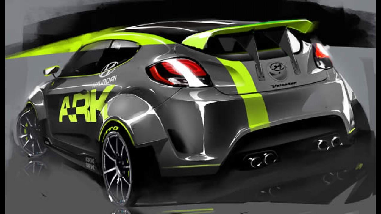 Hyundai Veloster: Versão de rali com 212 cv para o SEMA Show 2011