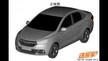JAC registra patentes de novo sedã compacto na China