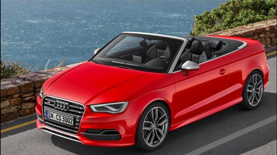 Audi S3 Cabriolet, per una guida veloce all'aria aperta