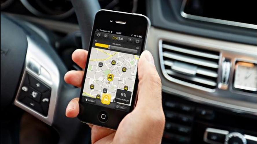 MyTaxi, così Mercedes sfida Uber