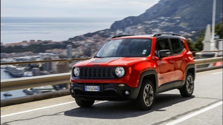 Jeep Renegade Trailhawk, sulla strada per il GP di Monaco