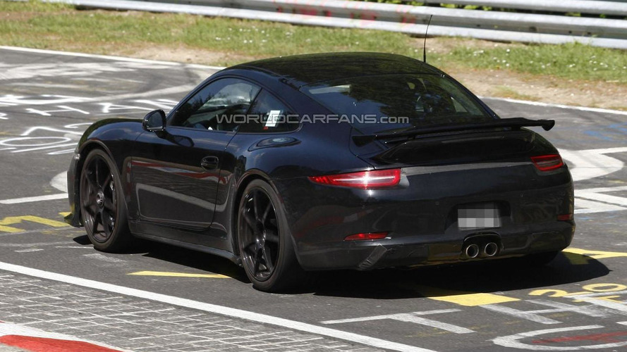 2013 Porsche 911 GT3 spied at the Nurburgring