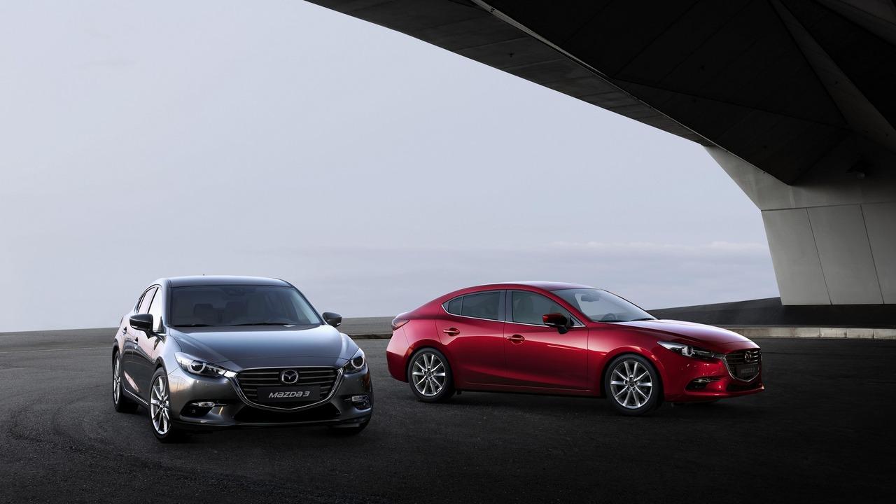 2017 Mazda3 facelift Euro spec