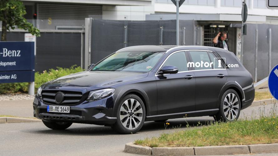 Mercedes E Class All Terrain spotted testing