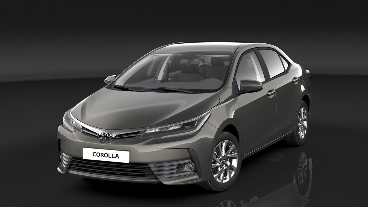 2016 Toyota Corolla EU Spec