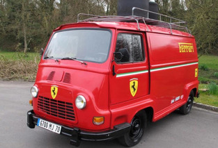 How Much is the Ferrari Team Van From RUSH Worth?