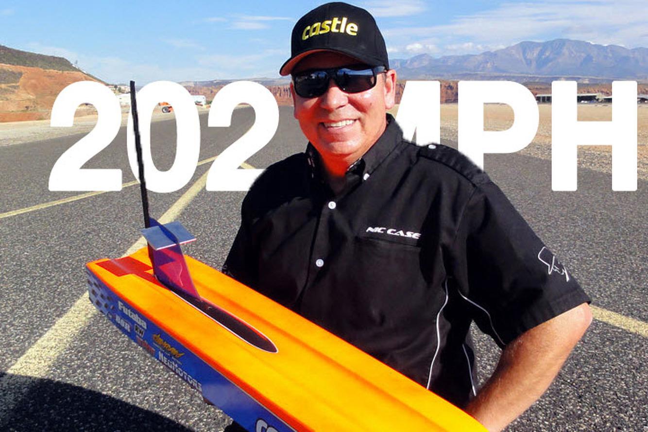 Watch an RC Car Break the 200MPH World Record