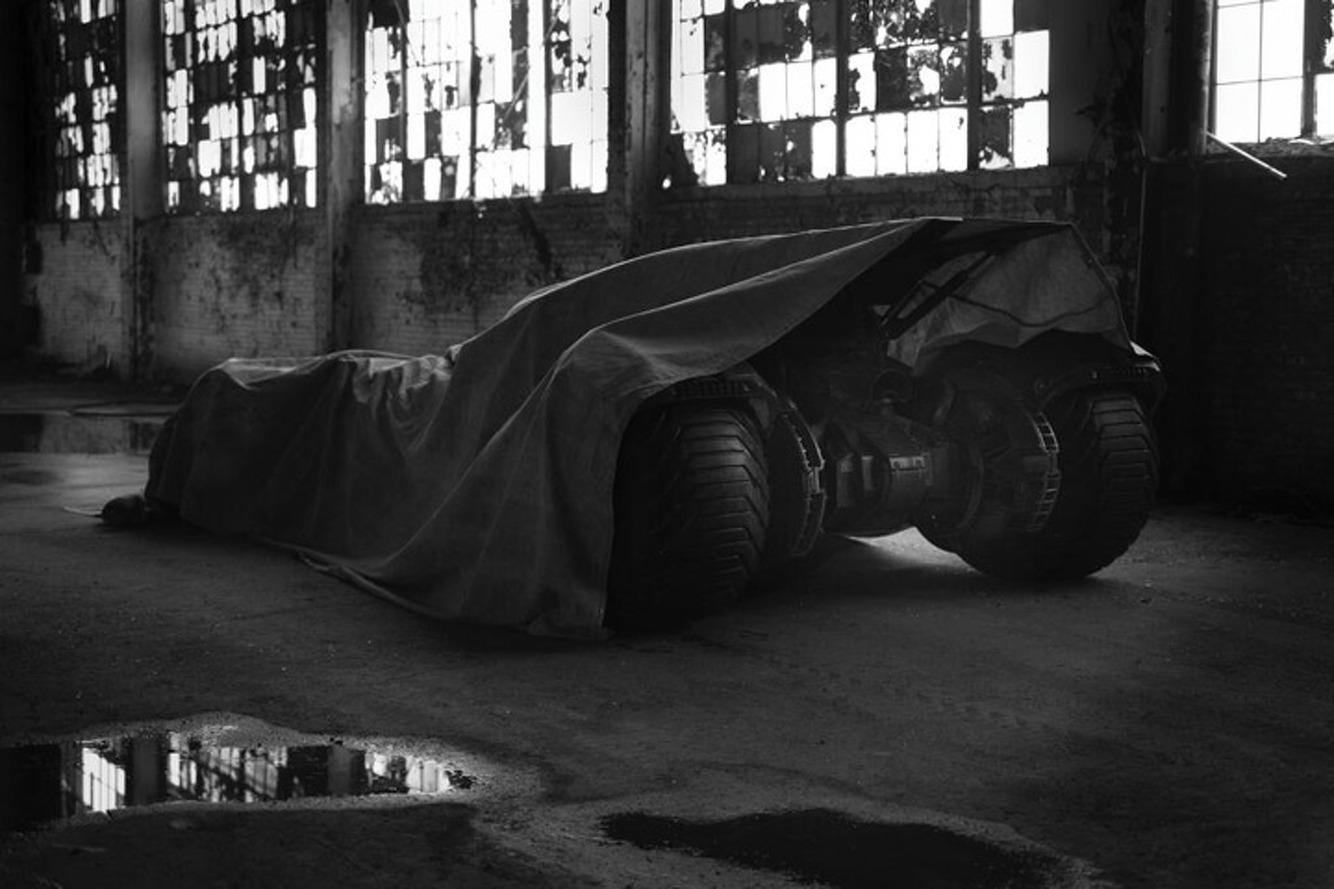 Zach Snyder Teases Next Batmobile