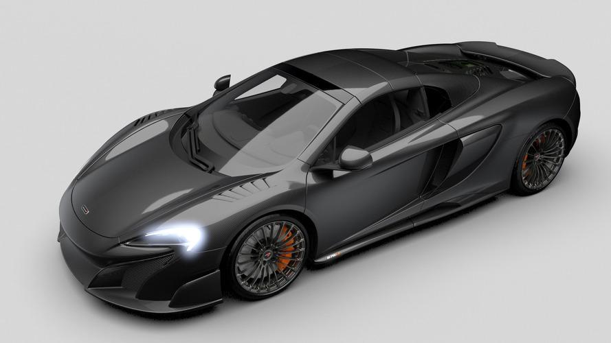 Une version full carbone de la McLaren 675 LT