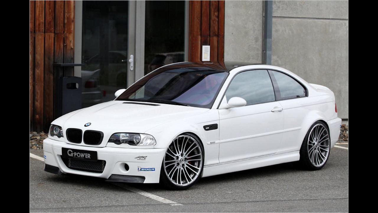 BMW M3 G-Power: 300 km/h