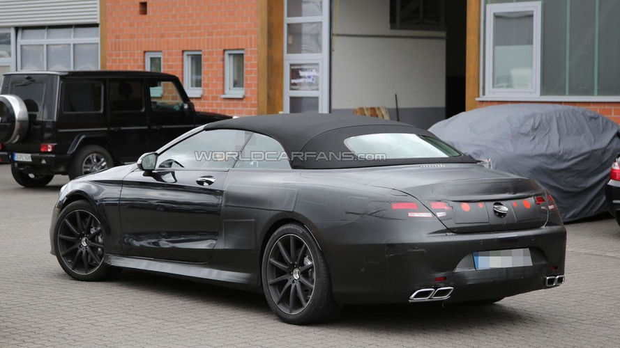 Mercedes S63 AMG Cabrio shows its aggressive face in latest spy photos