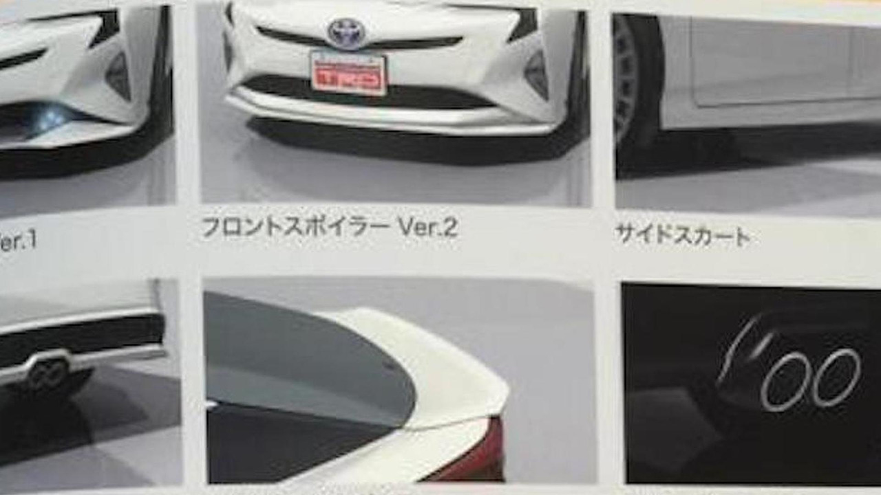 2016 Toyota Prius with TRD parts
