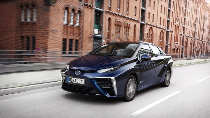 Toyota Mirai FCV, Birleşik Krallık'tan fon desteği aldı