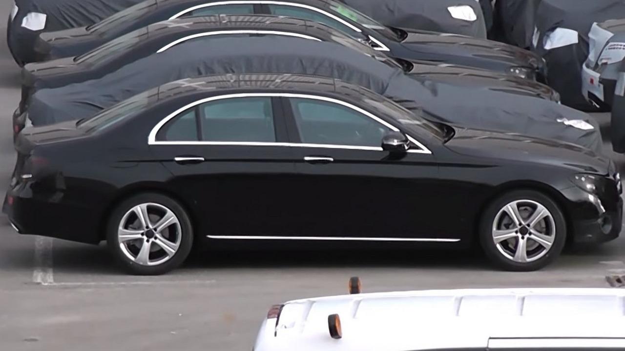 2016 Mercedes-Benz E-Class W213 pre-production unit