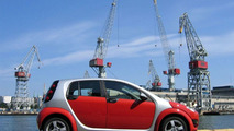 Smart Forfour on location in Helsinki Finland