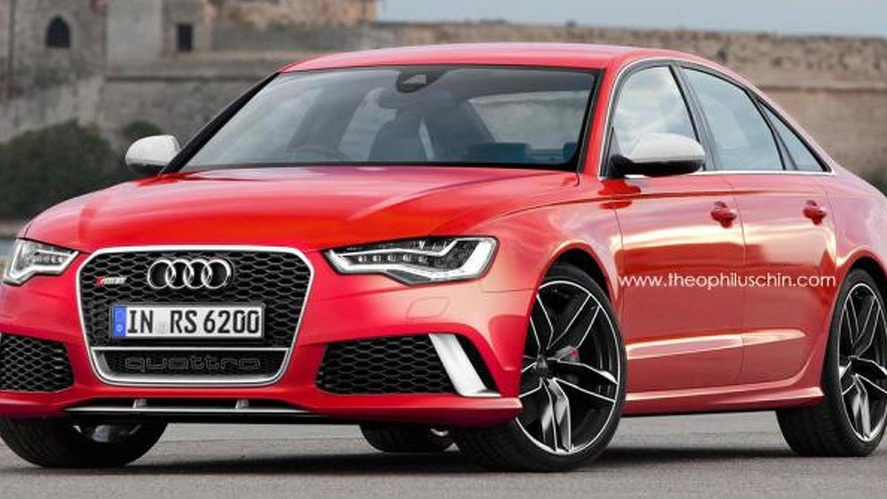 Audi RS6 Sedan speculative render / Theophilus Chin
