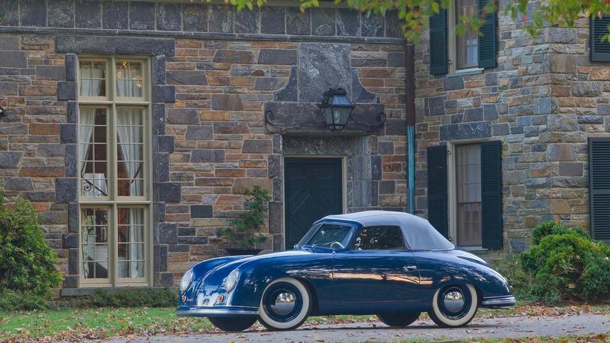 1952 Porsche 356 Cabriolet crowned the oldest Porsche in America