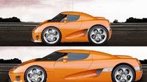 The supercar Shrinker - Koenigsegg CCR