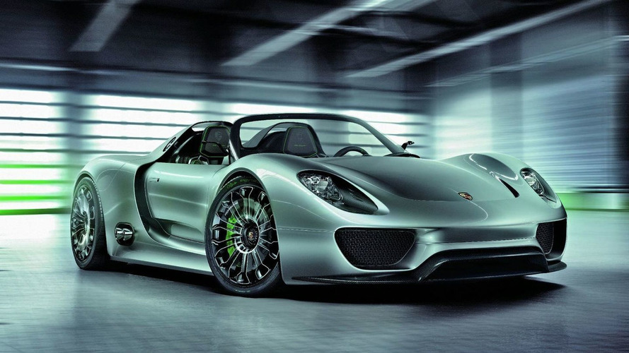 Official: Porsche 918 Spyder approved for production