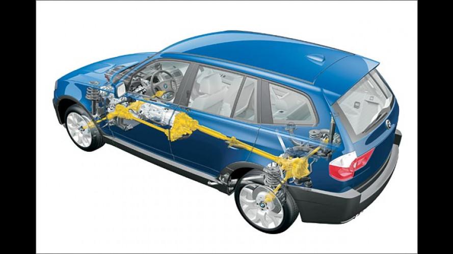 Das neue Allradsystem xDrive im BMW X3
