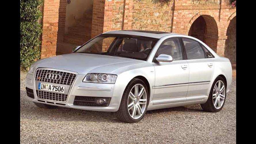 Kraft vom Stier-Herzen: Audi S8 von Lambo-PS beflügelt