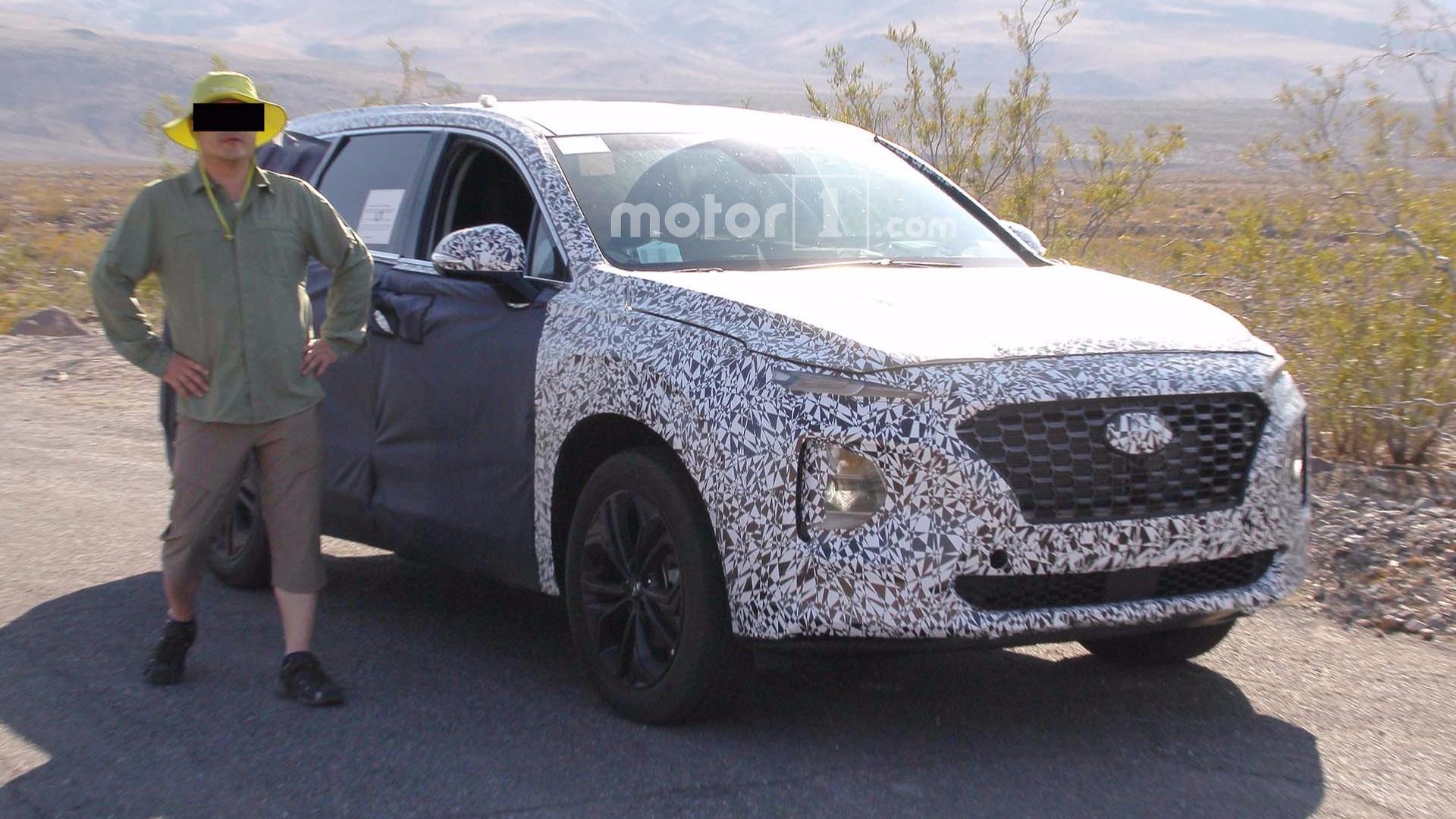 Next Generation Hyundai Santa Fe To Debut In February 2018