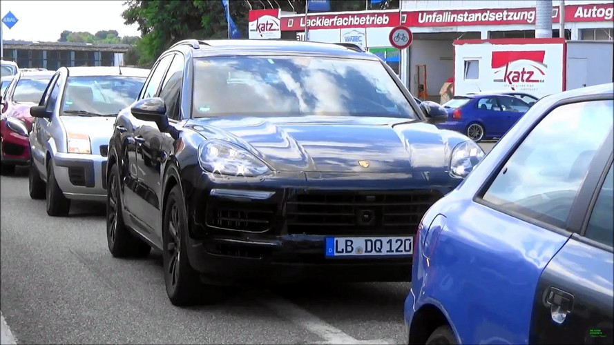 Porsche Cayenne Spy Video