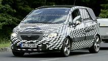 New Opel Meriva Closest Spy Photos