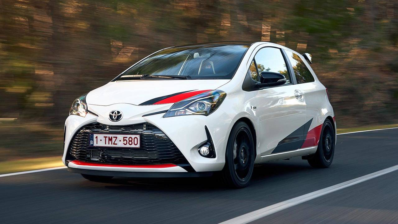2018 toyota yaris grmn first drive photos. Black Bedroom Furniture Sets. Home Design Ideas