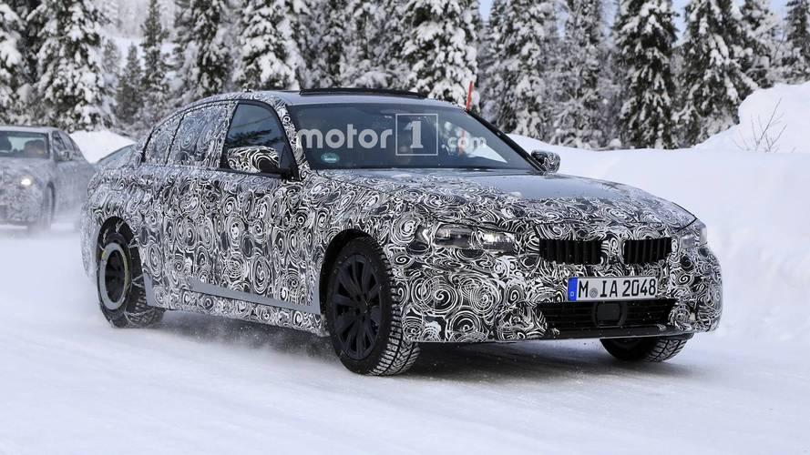 2019 BMW 3 Series spy photos