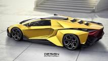 Lamborghini Forsennato Hiper Otomobil Konsepti