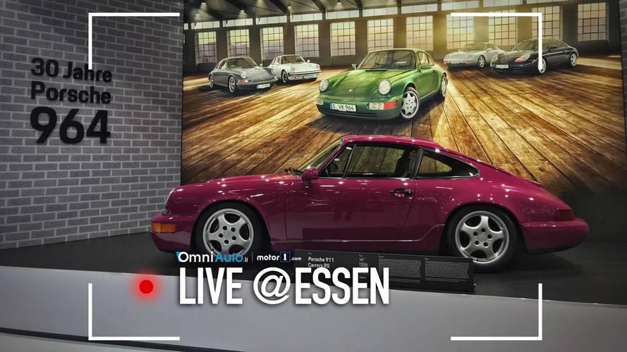 Porsche festeggia i 70 anni alla Techno Classica di Essen