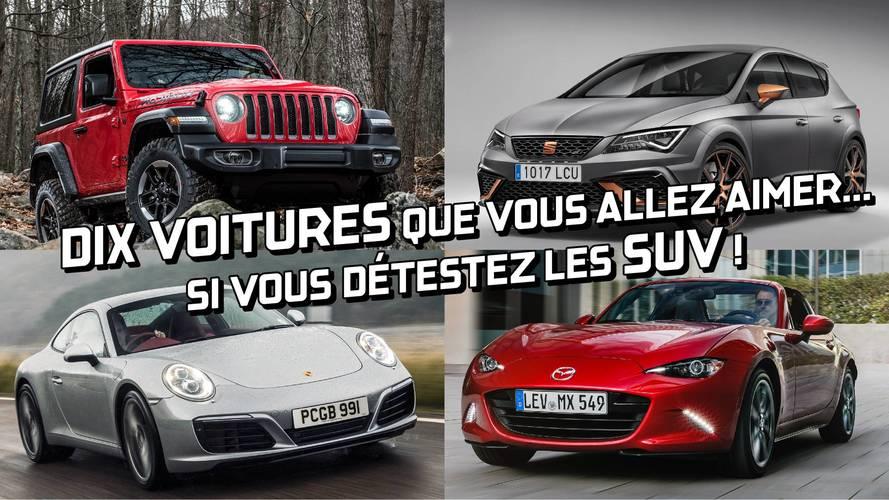 DIAPORAMA - Dix voitures que vous allez aimer... si vous détestez les SUV