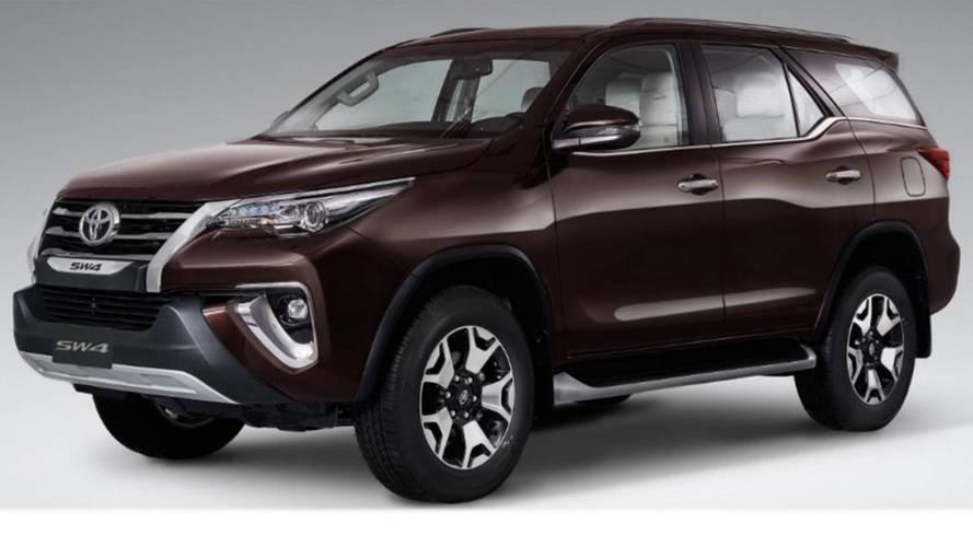 Toyota SW4 Diamond estreia na Argentina como nova versão de topo