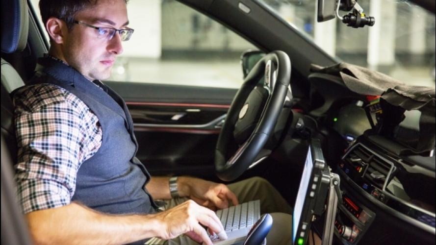 Guida autonoma, BMW cerca sviluppatori