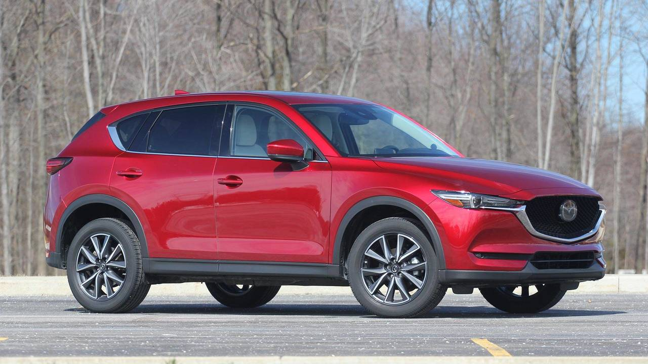 mazda cx  review trailing   triumph