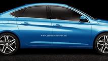 2014 Peugeot 308 Sedan render