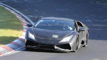 Lamborghini Cabrera testing on Nurbirgring