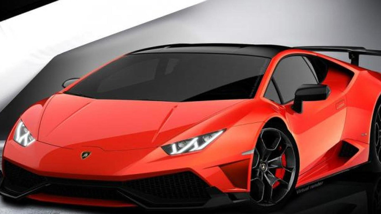 lamborghini huracan already rendered in roadster and. Black Bedroom Furniture Sets. Home Design Ideas