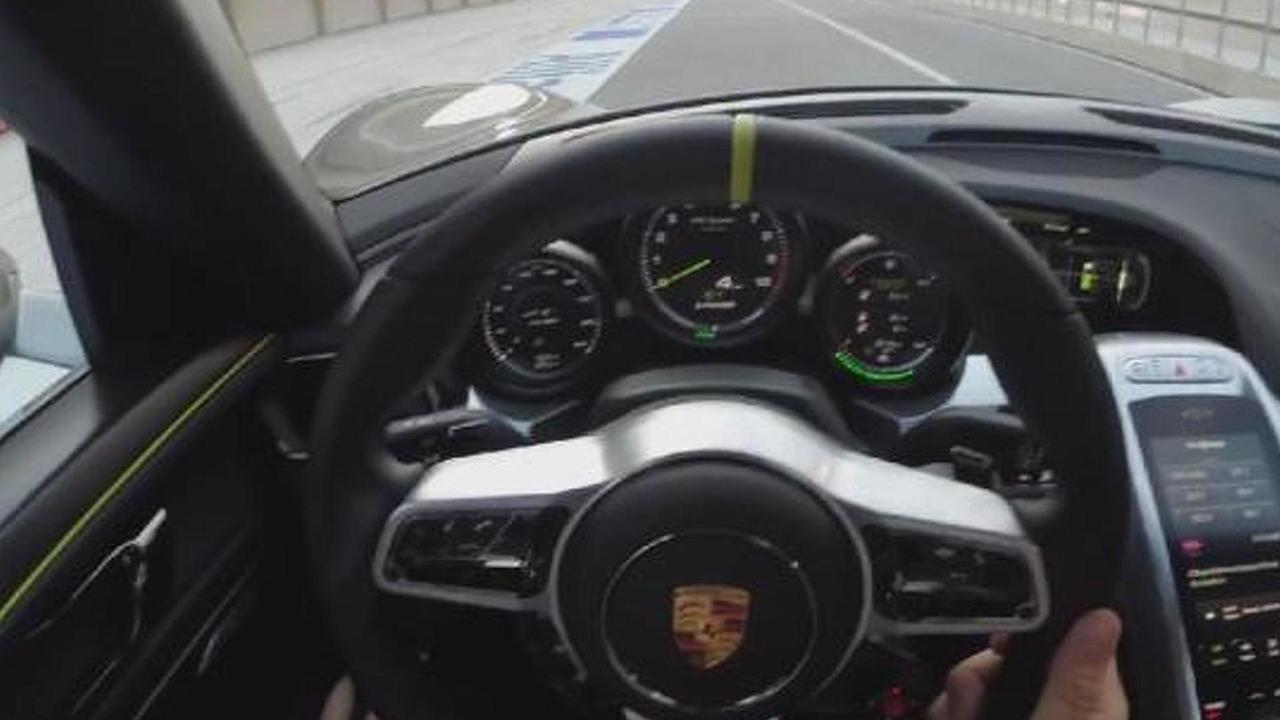 Porsche 918 Spyder at Circuit of the Americas