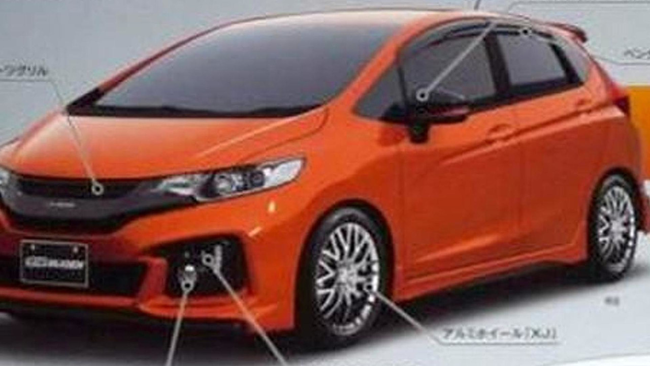 2014 Honda Jazz/Fit Mugen leaked photo 02.08.2013